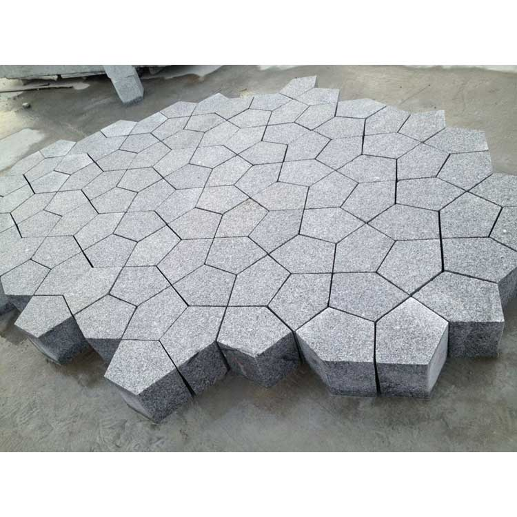 <b>G603 Grey Granite Paving Stone Irregular</b>